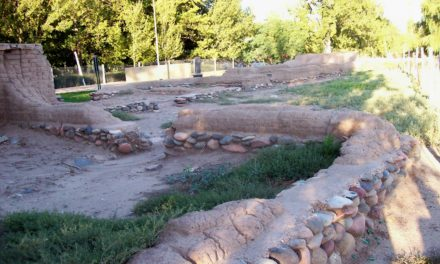 Les ruines du fort San Rafael del Diamante