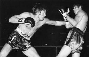 Carlos Monzón contre Nino Benvenuti en 1970