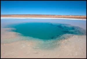 ojos de mar Tolar Grande stromatolites