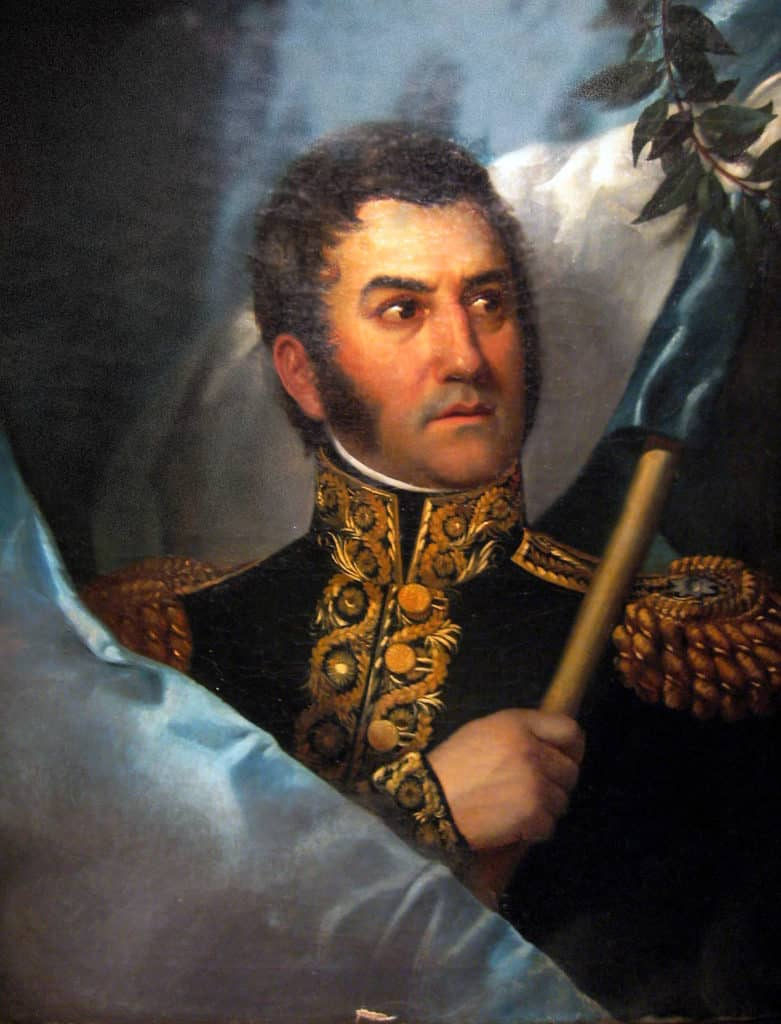 Général San Martin vers le 25 mai