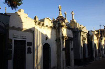 Visite du cimetière de Recoleta