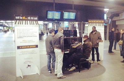 Du piano dans le métro de Buenos Aires
