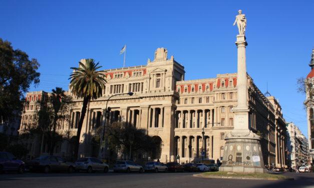 Tribunales, un édifice porteño imaginé par un architecte français