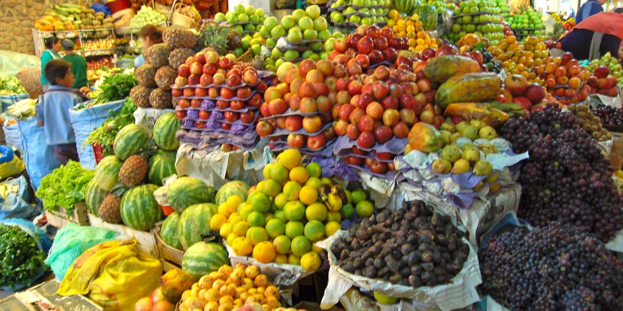 La folie des paniers de fruits et légumes