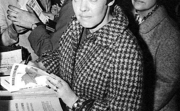 María Elena Walsh, qui marqua l'enfance en Argentine