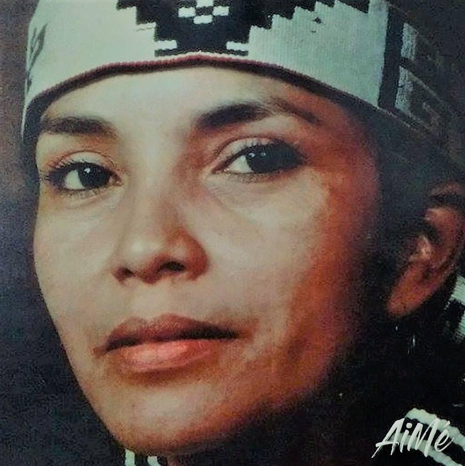 Aimé Painé, une des femmes à qui Puerto Madero rend hommage, puente de la mujer