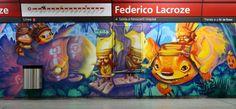 Les peintures murales du métro de Buenos Aires