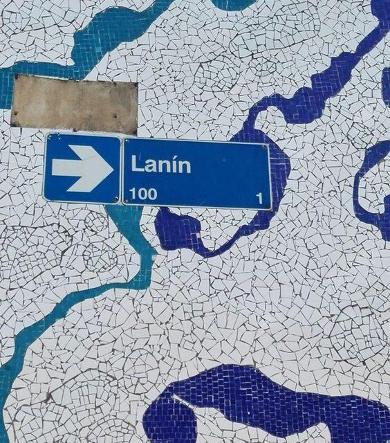 La Calle Lanín : la rue aux mille couleurs !