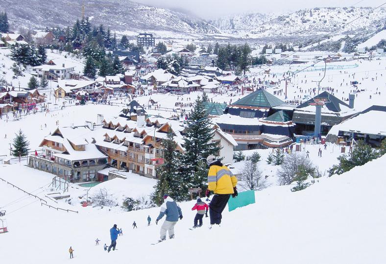 Au alentour de Bariloche : Faire du ski sur le Cerro Catedral