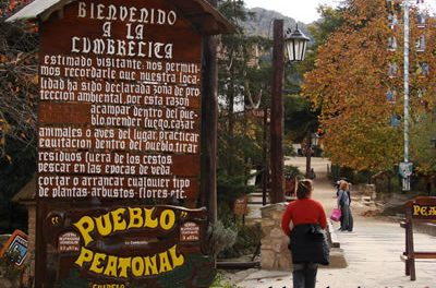 La Cumbrecita, village typique en pleine montagne