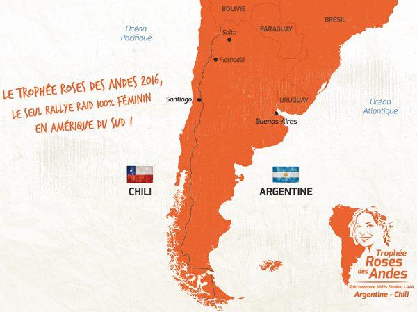 Départ du Trophée Roses des Andes 2017