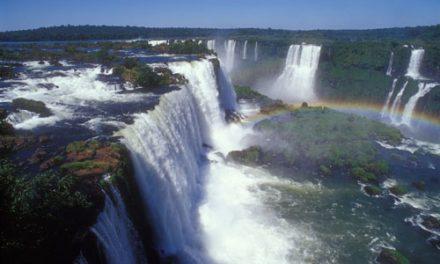 La naissance des Chutes d'Iguazu