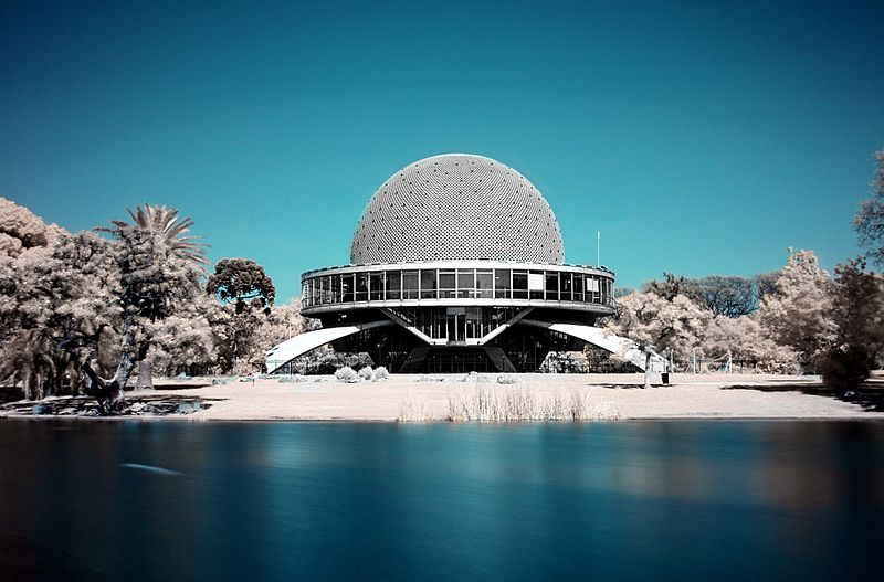 Le planétarium de Buenos Aires, des étoiles plein les yeux
