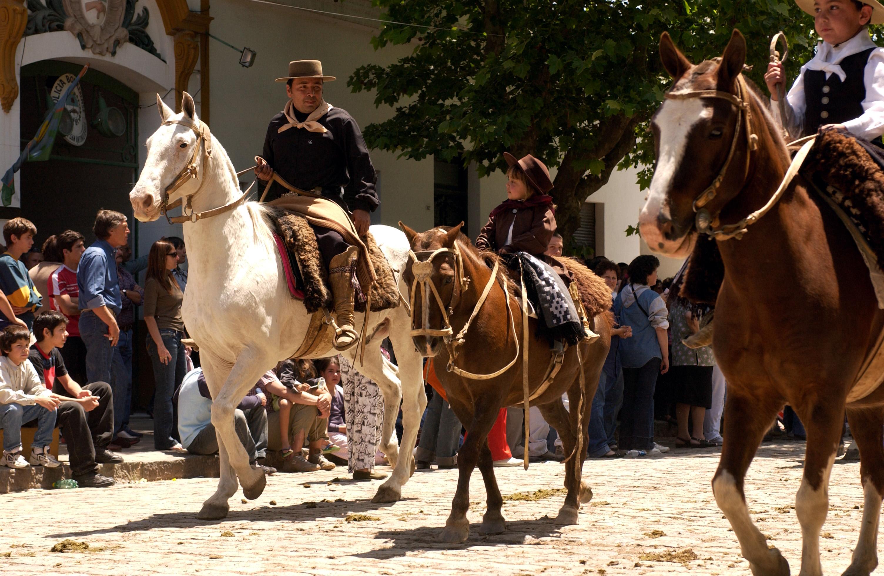 Gauchos de San Antonio de Areco