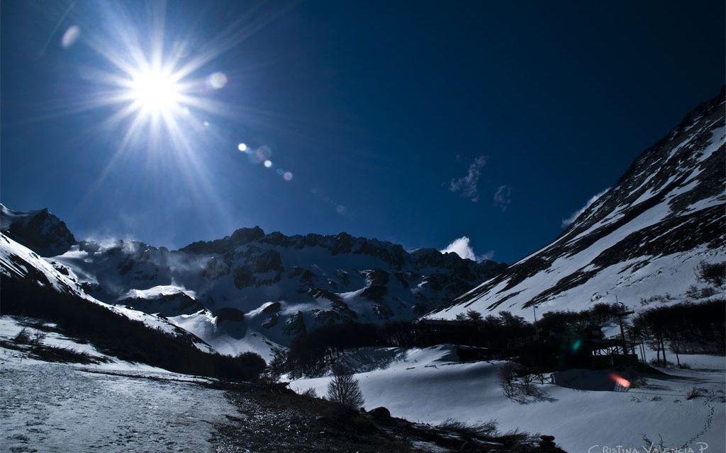 Le glacier Martial : le glacier du bout du monde !