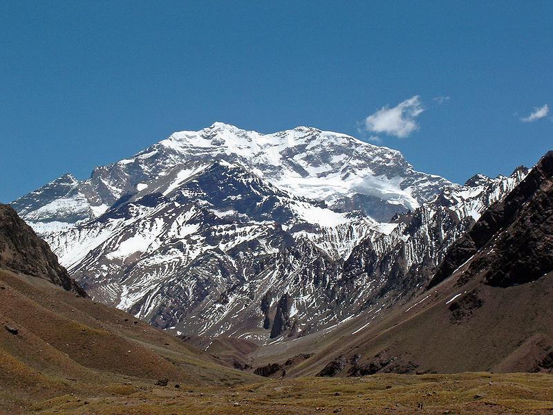 Le sommet le plus haut du continent : le mont Aconcagua