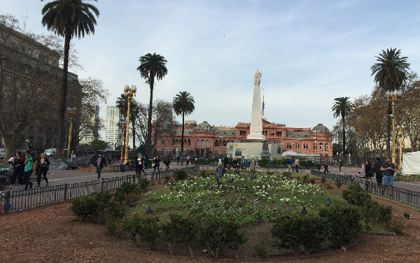 Visiter la Casa Rosada