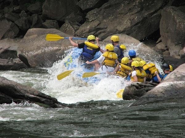 Sport : le rafting en Argentine