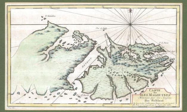 Les Malouines, un territoire maritime argentin