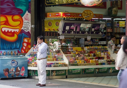 La coutume des kiosques en Argentine