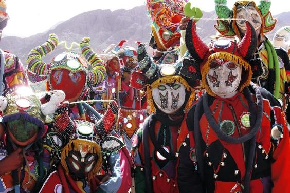 Carnaval dans le nord ouest argentin: quand le diable refait surface