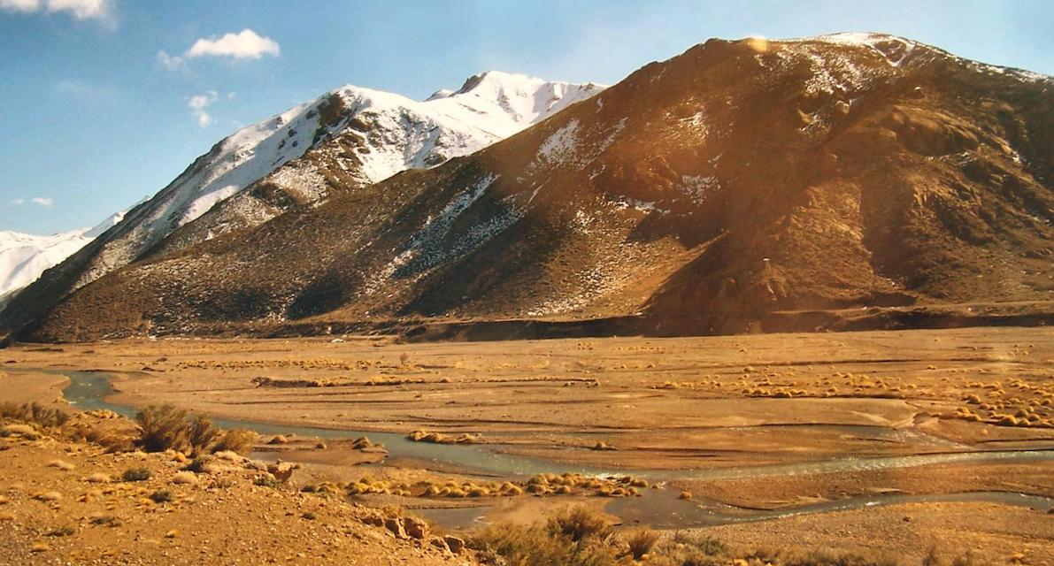 Région de Mendoza : Cañon del Atuel et Villa Grande, faire du sport dans un cadre enchanteur!
