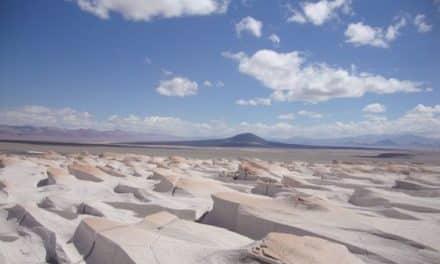 "L'étonnant ""campo de piedra pómez"" de catamarca"