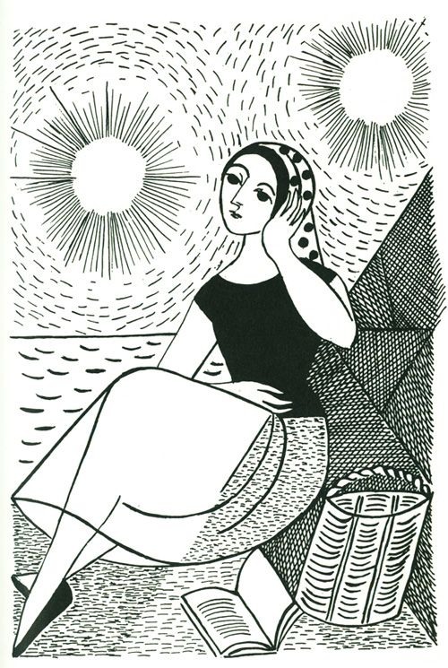 Gravure de Norah Borges